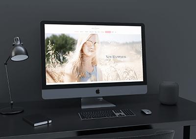 Udarbejdelse af webshop