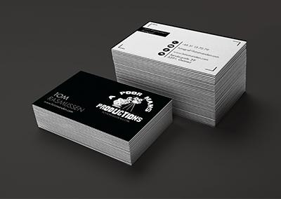 Design og print af visitkort