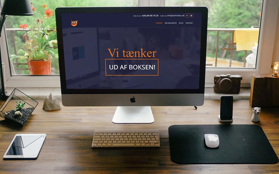 Vi er gået i luften med vores nye hjemmeside!